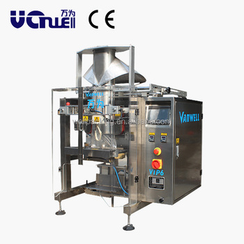 vertical bagging machine for potato