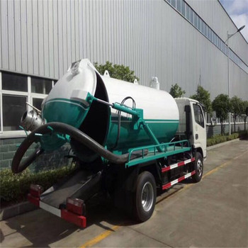 4*2 dongfeng 10000L fecal suction truck vacuum tanker truck