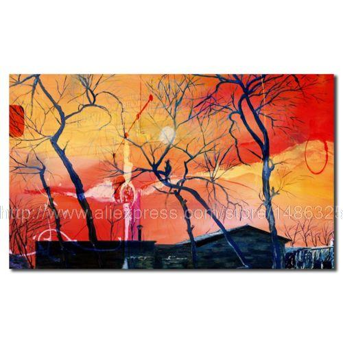 Canvas Scenery Oil Painting For Home Decor Arts And Crafts Modern Wallpaper Jesus Christ Painting Mass Art Painting art Shipping