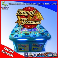 Cheap classical 6 players king of treasures arcade game