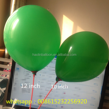 different size party decoration helium balloon