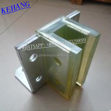 Reciprocating movement Elevator roller guide shoe without regulating structure for Cargo Lift