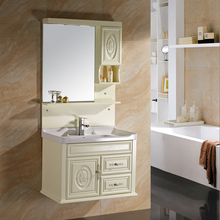 Good Price Floating Single PVC Bathroom Cabinet