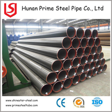 China Steel Mills Black Paint Iron Supplier ASTM A53B ERW Welded Steel Pipe