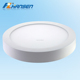 Super brightness round 35mm thickness led panel down light 20w for kitchen cabinets design