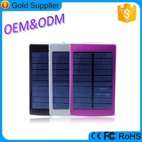 Large capacity solar power banks 20000mah power bank hippo