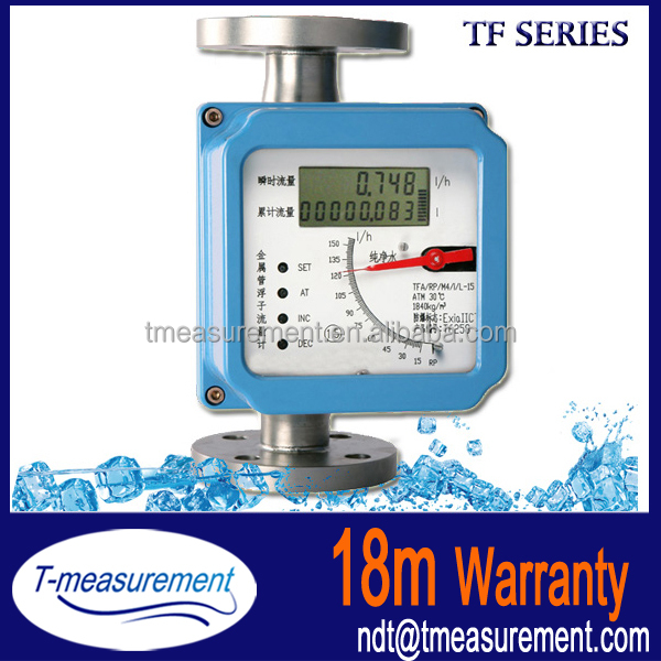 Flanged Connections Rotameter flowmeter for water
