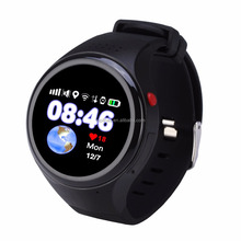 SOS emergency GPS wifi tracker hand wrist sim card watch mobile phone T88