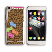 Shenzhen custom print design epoxy back cover case for lenovo a5500