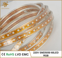 China 5050 smd rigid rgb led strip light