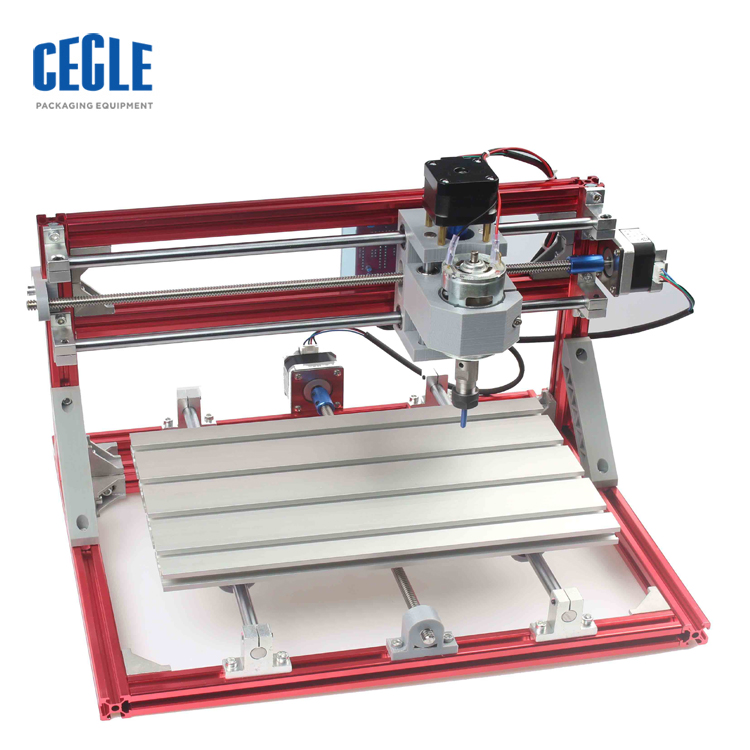 storm mini 3axis desktop red and silver <strong>cnc</strong> 3018 DIY subsurface engraving machine laser engraving machine for sale