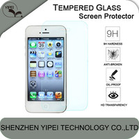 Protective Film Hardness Nao Tempered Glass Screen Protector For iPhone 5 5S 5C 6 6 Plus with 2.5D Round Edge
