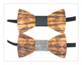 2017 trending products Wooden Bow Tie Straps Bow Tie Hooks Elastic Band