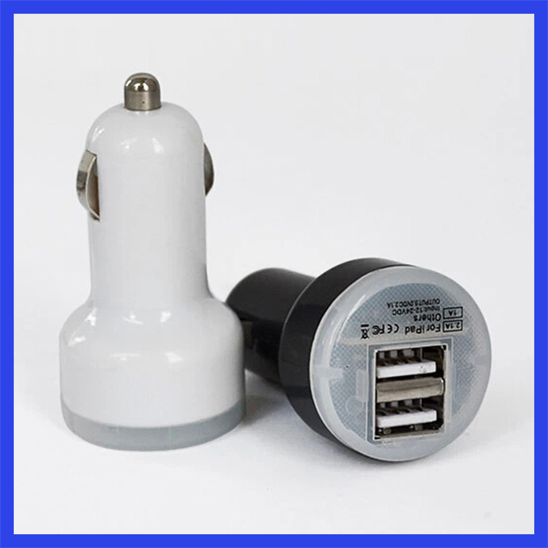 Dedicate design car charger, promotional usb car battery charger, colorful car charger