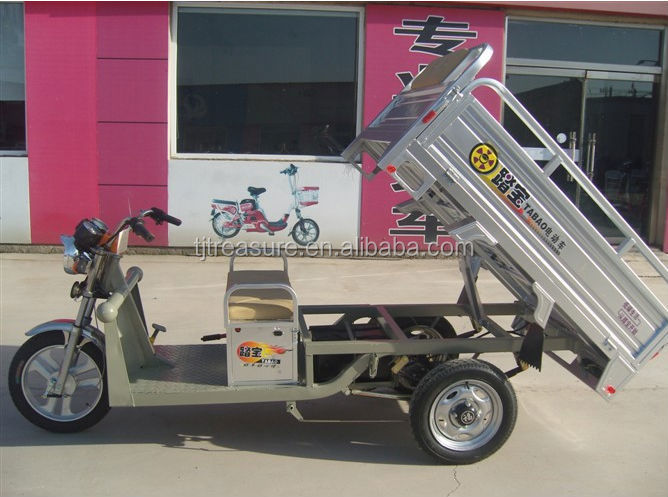 2014 passenger use for and open body type electric adult tricycle from china