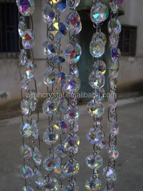 MH-ZL052 hanging crystal bead for party event decoration