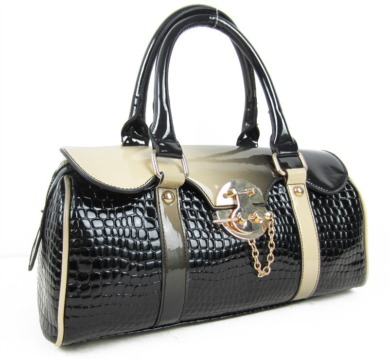 casket style tote bag fashion for lady big brand design