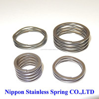 High precision space saving wave spring for fishing boats made in Japan