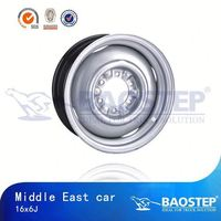 BAOSTEP Highest Quality Professional Steel Wheel Rim For Toyota Hiace