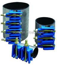 Pipe line Ductile iron LUG Repair clamp for leakage water pipes