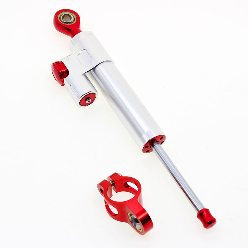 Top selling milled aluminum CNC steering damper parts stabilizer kitfits CBR 600 F4i