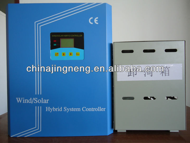 24V to 240V 1KW-10KW Wind Solar Hybrid Controller For Charging Battery Superior Quality with LCD ,CE & 3 years' Warranty