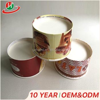 Wholesale print customized logo Ice cream Cup paper cup,Greaseproof Baking Paper Cup  Cupcake Wrappers Cupcake Liners Muffin Cup