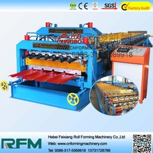 Metal Roofing Sheet Double Layer Making Roll Forming Manufacturing Machine