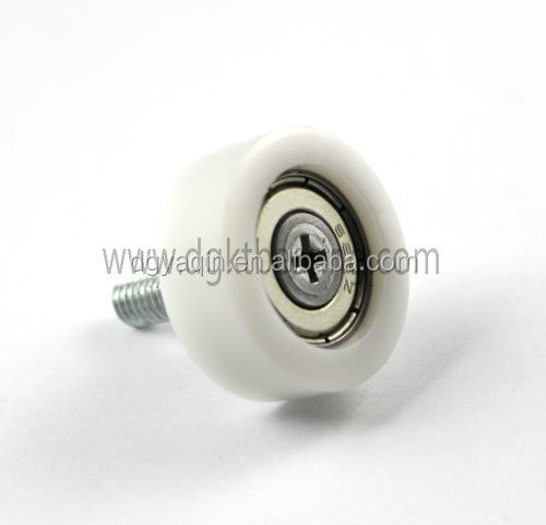 626zz drawer wheel furniture moving rollers drawer pulley with screw