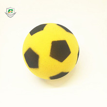 eco-friendly outdoor wholesale cheap round sponge soft kids balls custom printing foam soccer football toy