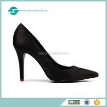 Latest High quality ladies cow leather high heel safety shoes for women