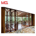 Heavy folding door aluminum frame folding doors