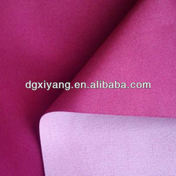 Waterproof PU coating 400d nylon oxford fabric for bags