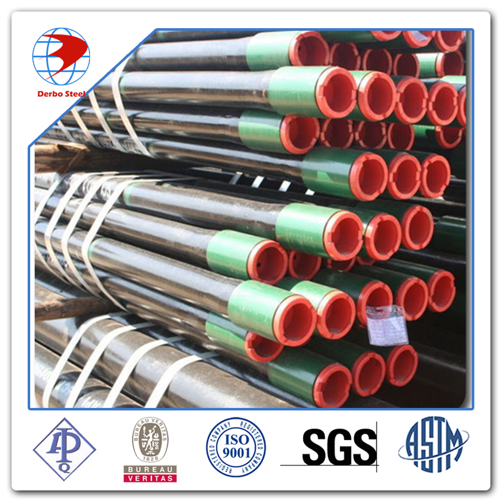4 1/2 Inch 12.75# R2 Thread & Coupled API 5CT K55 OCTG Tubing For Oil Well Project
