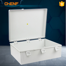 Custom made IP67 housing waterproof lockable metal sheet enclosure box electrical meter distribution box