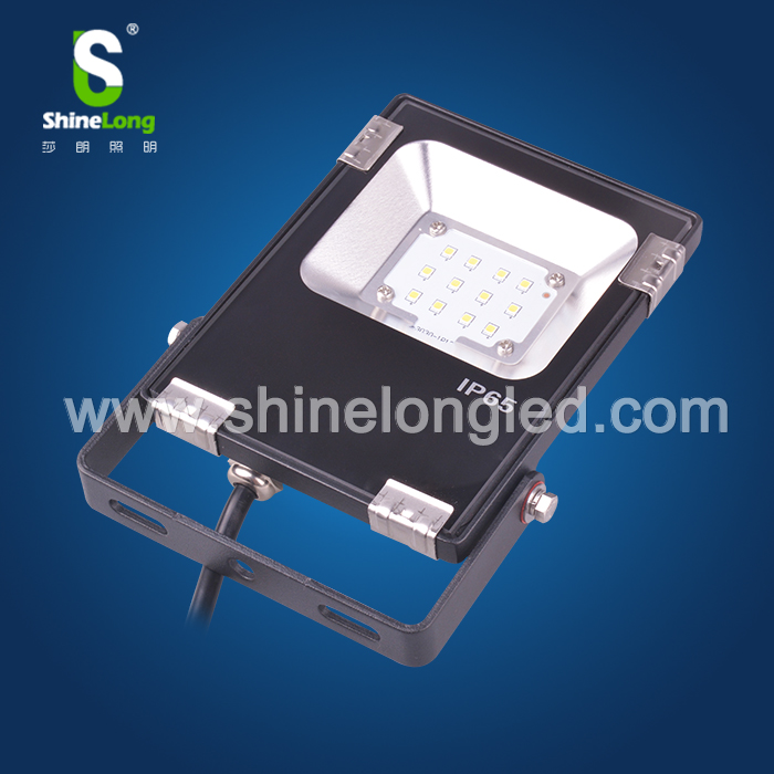 CE RoHS Approved IP65 LED Flood Light 10w 5 Years Warranty