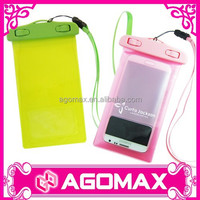 BSCI audited factory direct selling decoration cell phone waterproof pouch