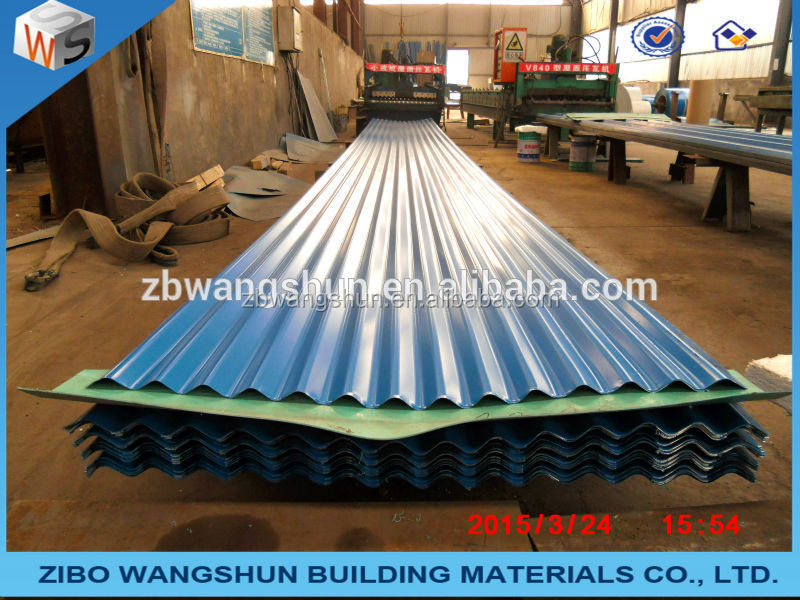 Building and decorate material galvanized corrugated iron sheet