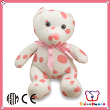 SEDEX Factory lovely hot selling toy promotion gift pure white teddy bear
