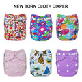 Waterproof Washable Reusable NewBorn Cloth Diapers