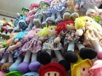 promotion gifts for vip stuffed doll toy ,custom rag doll organic baby toys