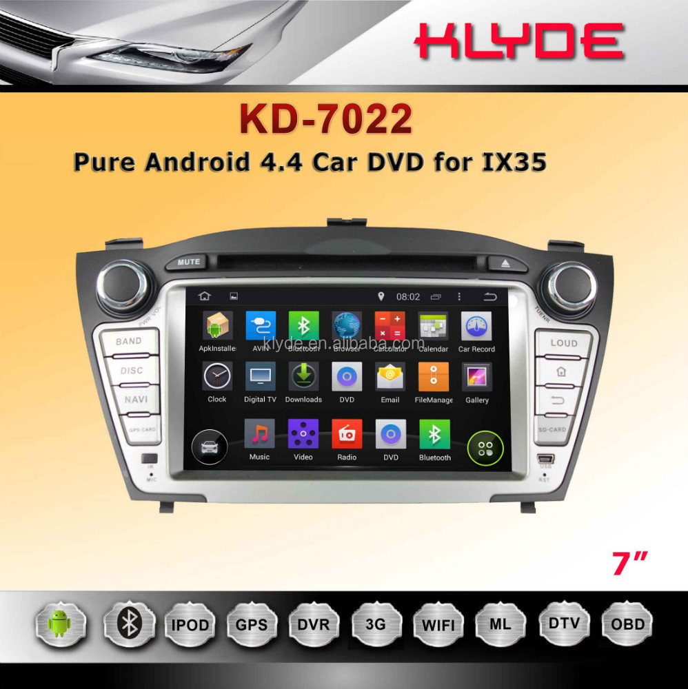PURE ANDROID CAR DVD PLAYER FOR IX35 /TUCSON 2009-2012 WITH GPS