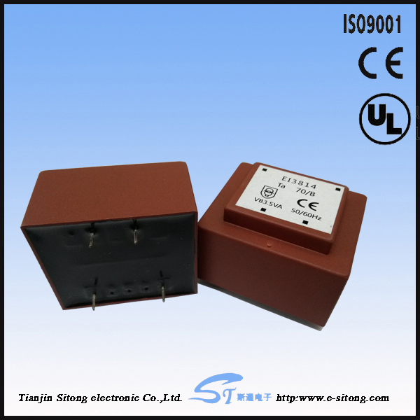 EI30 EI38 EI42 EI54 EI60 pcb mount encapsulated epoxy transformer
