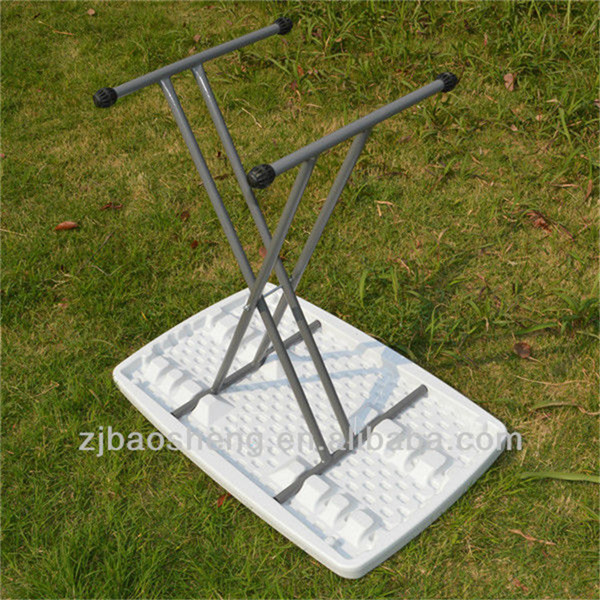 2015 modern 2.5FT adjustable Folding Table, outdoor home furniture plastic folding table