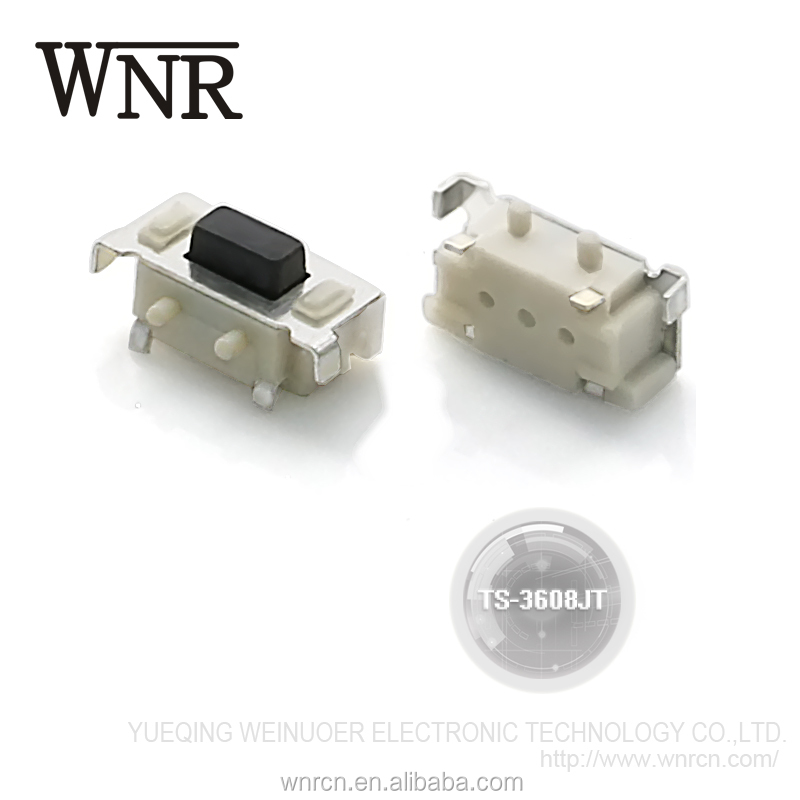 WNRE Tact Switch/Tactile Switch/Mini Touch Botton Switch 2pin 3*6mm TS-3608JT