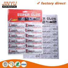 Glue Factory OEM Instant dry SGS certificated super glue Multipurpose