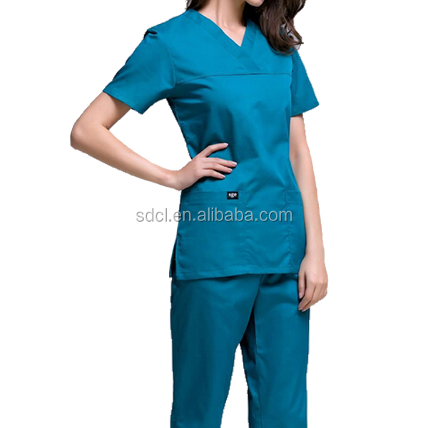 Custom Fashion nurse uniform/medical scrubs /hospital uniform