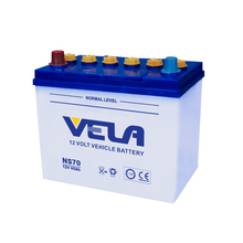 55b24 car battery NS70 dry charged battery for sale
