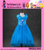 2015 factory direct long style lace Princess baby dress Christmas day new style cheaper cinderella flower girl dresses
