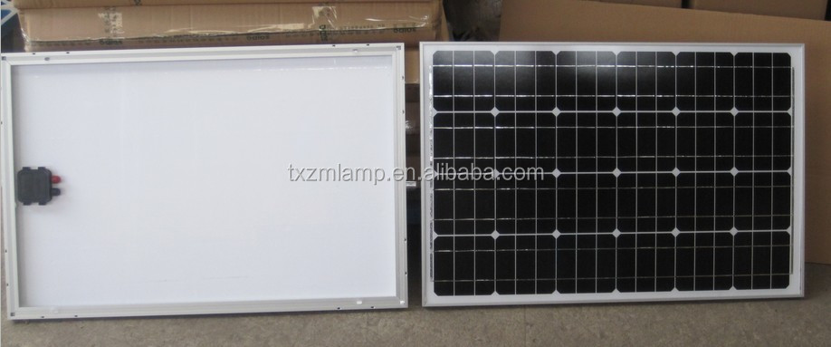 2014 black China made solar panel silicone crystalline modules